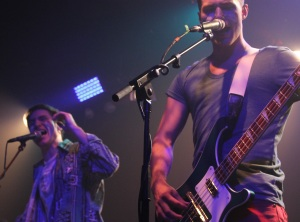 Bassist Kevin Ray and Lead Singer Nicholas Petricca of Walk the Moon
