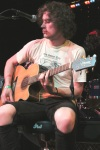 Singer Nick Wold of Motive during the band's acoustic set 5/15/12 at Dominion
