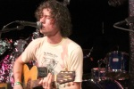 Nick Wold of Motive during the band's acoustic performance 5/15/12 at Dominion