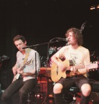David Leondi and Nick Wold of Motive at the band's acoustic set 5/15/12 at Dominion