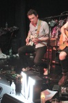 Motive's guitarist David Leondi at the band's acoustic set 5/15/12 at Dominion