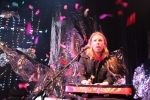 Keyboardist Chris Olson at Chappo's Moonwater album release 5/15/12 at Dominion